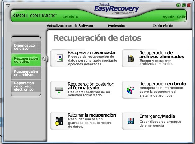 Easy recovery pro and vista