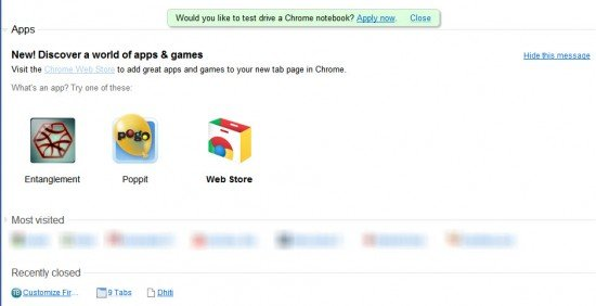 Chrome-new-tab-page