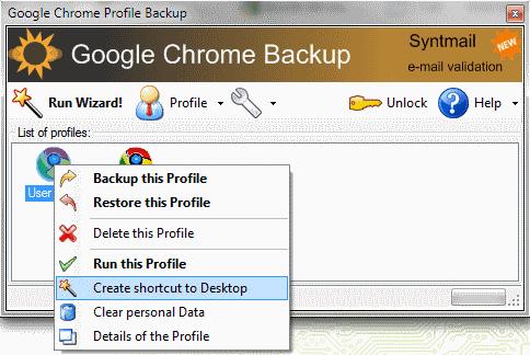 Как создать новый профиль google chrome