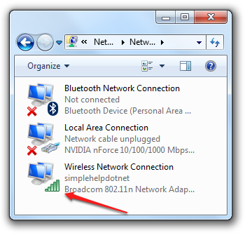 Интернет (Broadcom 802.11n