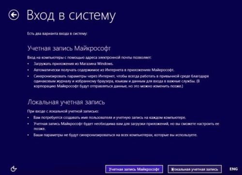 Вход в систему Windows