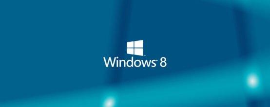 Заставка Windows 8