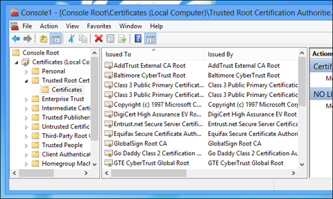 install-root-certificate