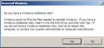 reinstall-windows-discconfirmation