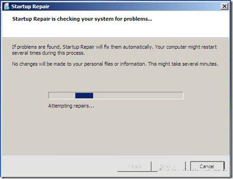 startup-repair-inaction