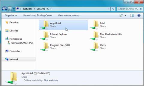access-share-folders