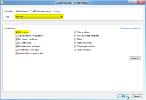 auditing-entry-for-uxtheme.dll