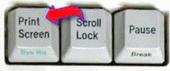 Print-Screen-button