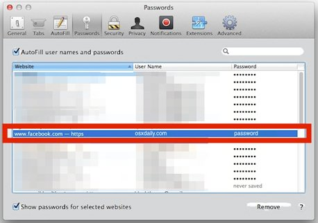 password-website-safari-mac