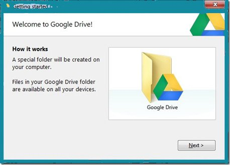 Google-Drive-gettihg-started