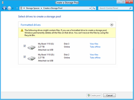 select-drives-to-create-a-storage-pool-windows8