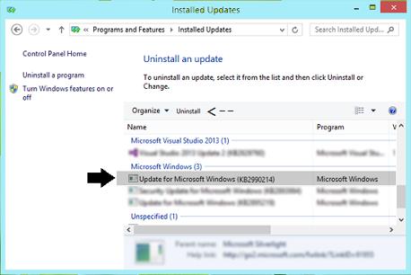 Uninstall-Windows10