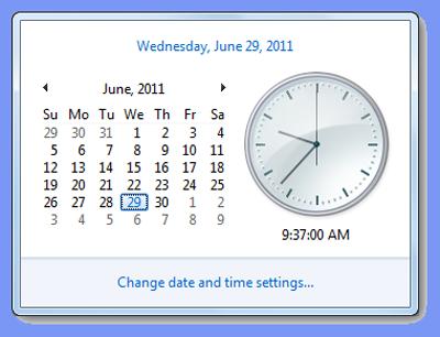 clock-settings-windows7