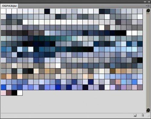Пользовательская палитра Photoshop