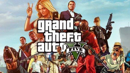 Заставка игры GTA 5