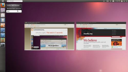 Окно выбора интерфейса Ubuntu