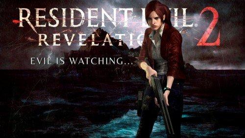 Заставка игры Resident Evil: Revelations 2