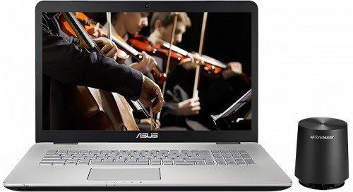 Ноутбук Asus N751JK со встроенной акустикой