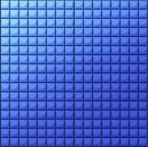 Пустое игровое поле с синими квадратиками