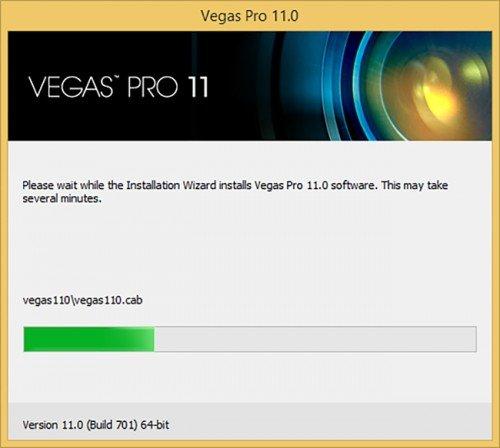 Установка Sony Vegas Pro