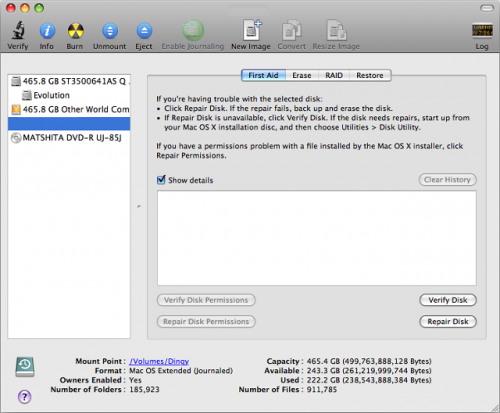 Apple Disk Utility