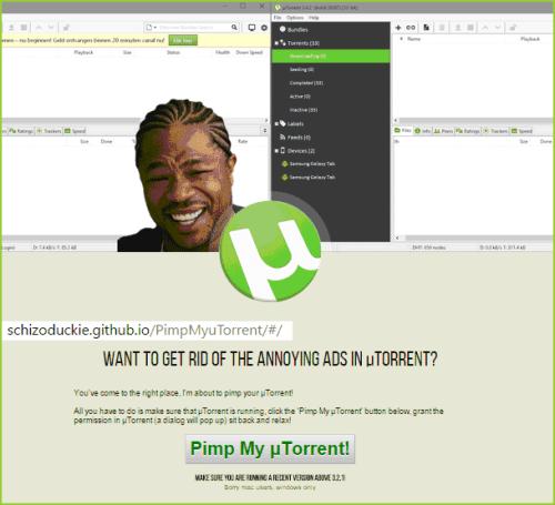 Pimp my uTorrent