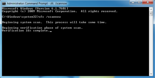 Коммандная строка Windows 7