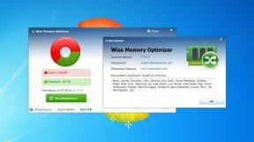 Рабочее окно Wise Memory Optimizer