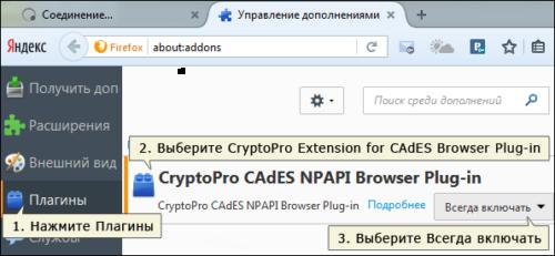 Включение NPAPI в Firefox