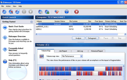 Программа Diskeeper