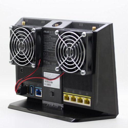 Система охлаждения маршрутизатора