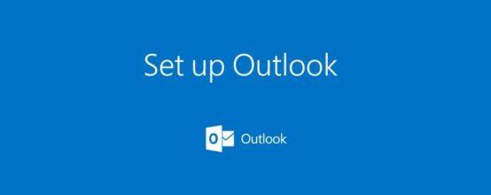 Первые шаги в Outlook