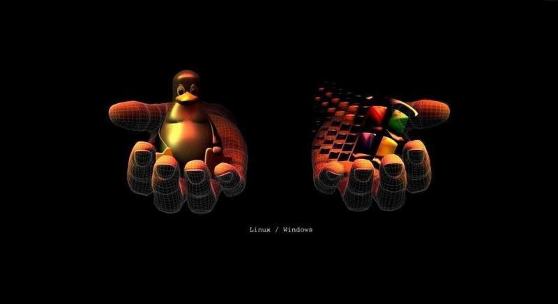 Символы Linux и Windows - миниатюра