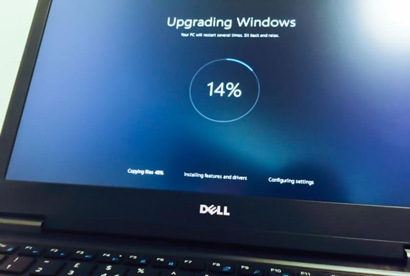 Картинка, изобращающая обновление Windows