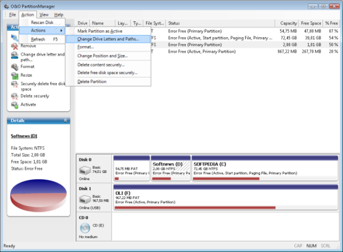 O&O Partition Manager 2