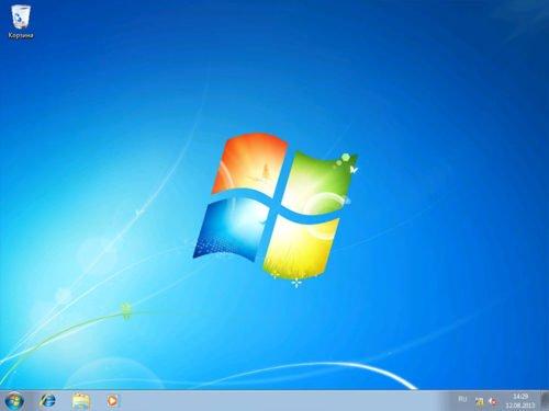 Рабочий стол Windows 7