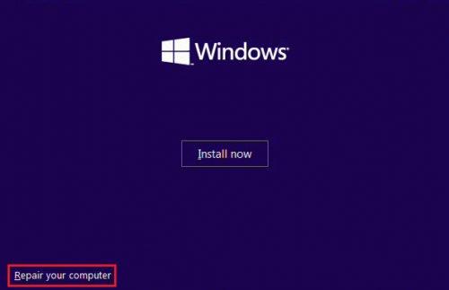 Загрузка Windows с установочного диска