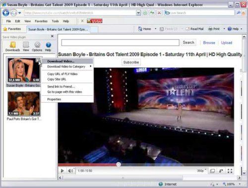 Видео в Internet Explorer