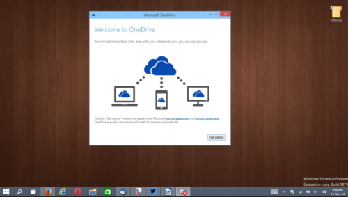 Облачное хранилище OneDrive в Windows 10