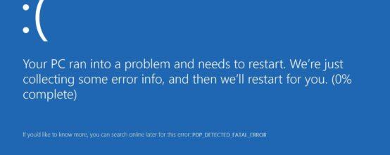 Windows 10 error