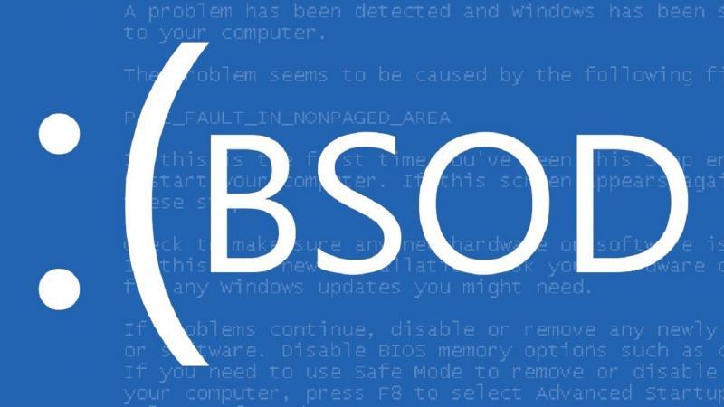 Причины появления BSoD ошибки и как с ней бороться