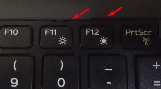 Клавиши F11 и F12 на клавиатуре