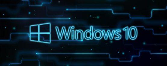 Windows 10, миниатюра логотипа