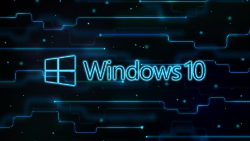 Windows 10, миниатюра логотипа