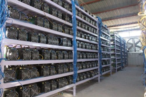 Гигантская майнинг-ферма для заработка биткоинов