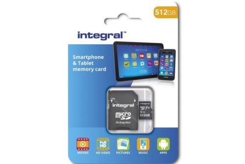 microSD на 512 Гб