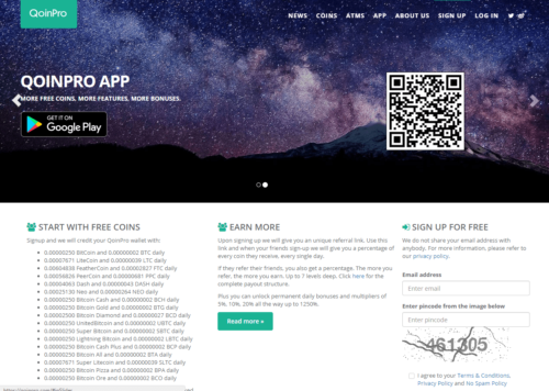 Сайт Qoinpro