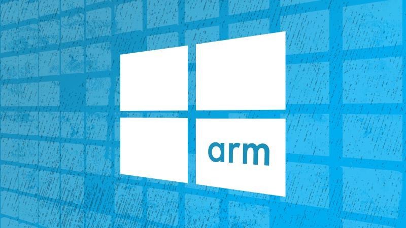 Логотип Windows 10 ARM