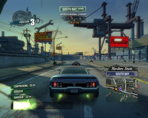 Скриншот из Burnout Paradise