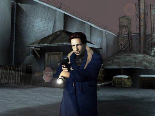 Агент Малдер в игре Секретные материалы
